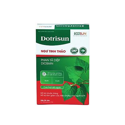 Viên uống Trĩ Dotrisun – Tiêu trĩ nhuận tràng, hỗ trợ giảm các triệu chứng của bệnh trĩ, ngăn ngừa táo bón