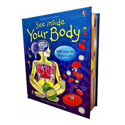 Sách tương tác tiếng Anh - Usborne See Inside Your Body