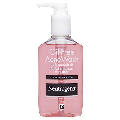 Neutrogena Oil Free Acne Wash Pink Grapefruit Facial Cleanser 175ml