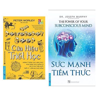 Combo Sách Kĩ năng Sống Bán Chạy Nhất: Cửa Hiệu Triết Học + Sức Mạnh Tiềm Thức