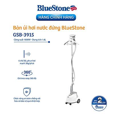 Bàn Ủi Hơi Nước Đứng Bluestone GSB-3915 (1800W) - Hàng chính hãng