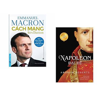 Combo 2 cuốn sách: Emmanuel Macron - Cách Mạng + Napoleon Đại Đế