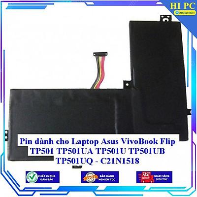 Pin dành cho Laptop Asus VivoBook Flip TP501 TP501UA TP501U TP501UB TP501UQ - C21N1518 - Hàng Nhập Khẩu