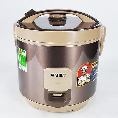 Nồi cơm điện Matika MTK-RC2875 dung tích 2,8 lít, nấu cơm ngon nức nở (Hàng chính hãng)