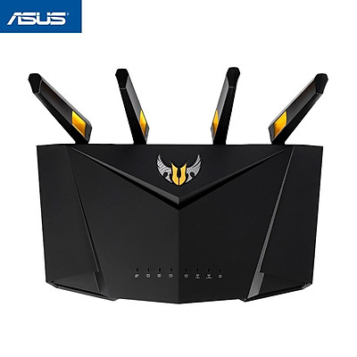 ASUS Smart WiFi Router TUF Gaming AX3000 Dual Band WiFi 6 Gaming Router with Dedicated Gaming Port AiMesh for Mesh WiFi