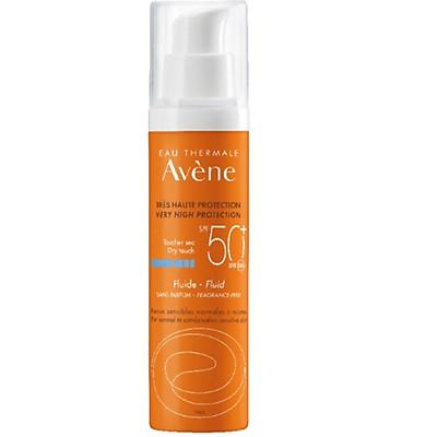 Kem Chống Nắng Avene Very High Protection Fluid SPF 50+ 50ML