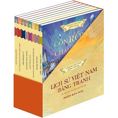 Combo 8 Cuốn: Bộ Sách Lịch Sử Việt Nam Bằng Tranh (Bản Màu) (Tiếng Việt)