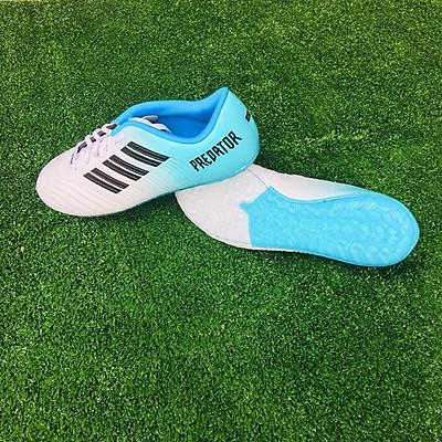 Giày đá bóng nam sân cỏ nhân tạo - 9999 màu trắng ngọc