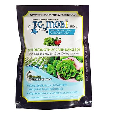 Thủy canh TC MOBI - Bột thủy canh / dinh dưỡng thủy canh trồng cây trong nước, rau củ quả, sen nhật mini