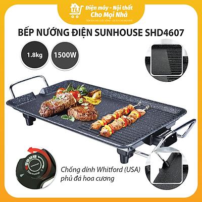 Bếp Nướng Điện Sunhouse SHD4607 (1500W) - Hàng chính hãng