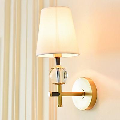 Đèn tường, đèn phòng ngủ chao vải cao cấp