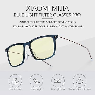 Mắt Kính Đọc Sách Chặn Ánh Sáng Xanh Xiaomi Mijia Pro