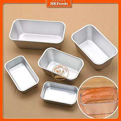 Khuôn Loaf Nhôm Đúc Làm Bánh Mì A02-03-04-05