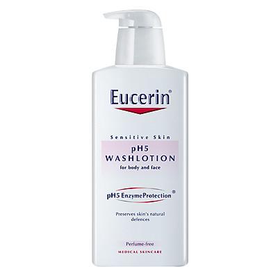 Sữa Tắm Không Mùi Dành Cho Da Nhạy Cảm Eucerin Ph5 Washlotion (400ml)