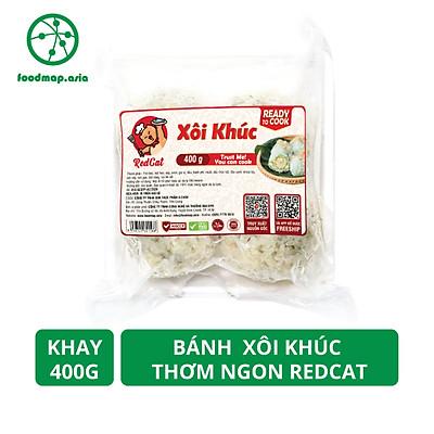 Bánh Xôi Khúc Thơm Ngon RedCat - Khay 400g - Foodmap
