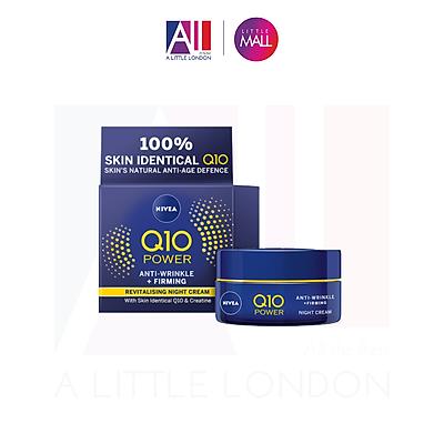 Kem dưỡng đêm Nivea Q10 Power Anti Wrinkle Firming Night Cream 50ml
