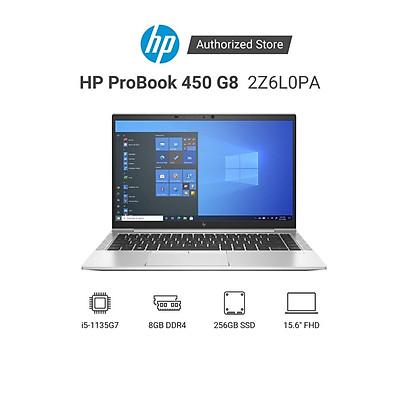 Laptop HP ProBook 450 G8 2Z6L0PA i5-1135G7 | RAM 8GB | 256GB SSD | NVIDIA Geforce MX450 2GB | 15.6 inch FHD | FreeDOS - Hàng Chính Hãng