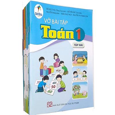 Sách Giáo Khoa Bộ Lớp 1 - Cánh Diều - Sách Bài Tập (Bộ 11 Cuốn) (2021)