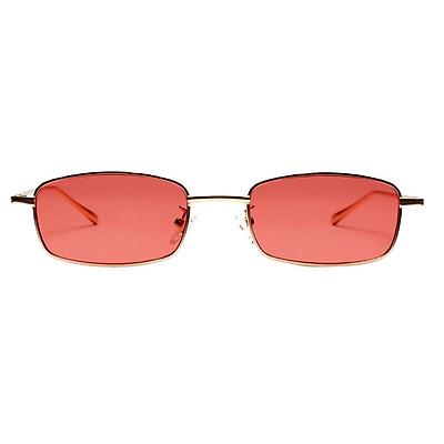 Unisex Fashion Colorful Metal rectangle Sunglasses Eyewear