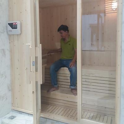 Phòng Xông Hơi Khô Gia Đình_Sauna Room