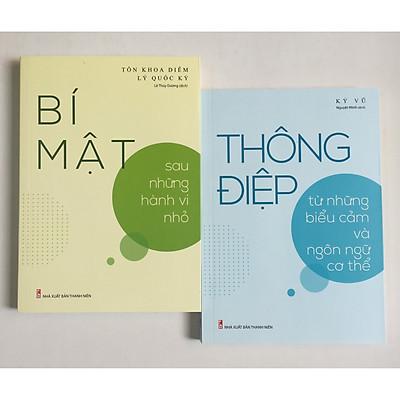 Combo 2 cuốn: Bí Mật Sau Những Hành Vi Nhỏ + Thông Điệp Từ Những Biểu Cảm Và Ngôn Ngữ Cơ Thể - Sức Mạnh Của Những Thay Đổi Tâm Lý Tinh Tế có bookmark