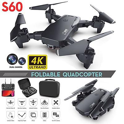 Máy bay Flycam S60 Thế Hệ Mới Camera FPV 4K 1080PThời gian bay 18Phút Tích Hợp Giữ Độ Cao Tiên Tiến, ảnh truyền về điện thoại