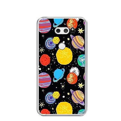 Ốp lưng dẻo cho điện thoại LG V30 - 0414 GALAXY03 - Hàng Chính Hãng