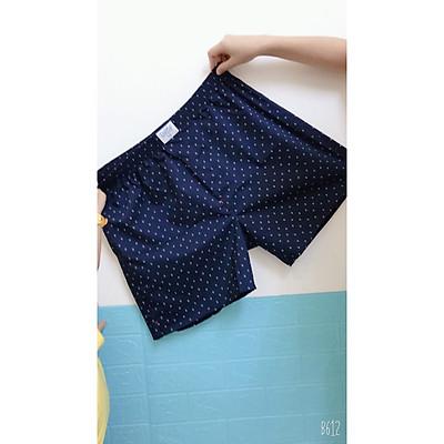 Combo 6 quần short mặc nhà nam Davie kate 100% cotton size lớn đến 110 kg mặc vừa màu ngẫu nhiên