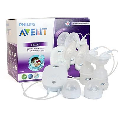 [ TẶNG QUÀ ] Máy Hút Sữa Bằng Điện Đôi Philips Avent SCF303/01 - Trắng - TẶNG 1 HỘP TÚI TRỮ SỮA UNIMOM 210ML