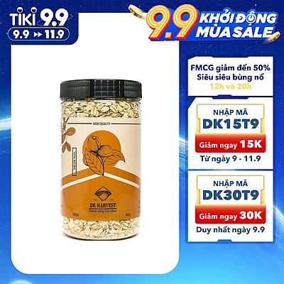 Yến Mạch Cán Mỏng DK HARVEST Nhập Khẩu Australia 450g - nguồn cung cấp chất xơ tốt, đặc biệt là beta glucan và rất giàu các vitamin, khoáng chất và chất chống oxy hóa