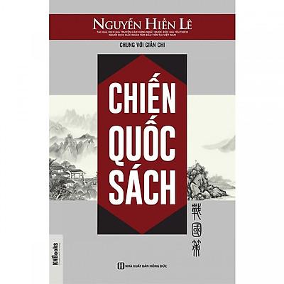 Chiến Quốc Sách - Nguyễn Hiến Lê (Tặng Bookmark độc đáo)