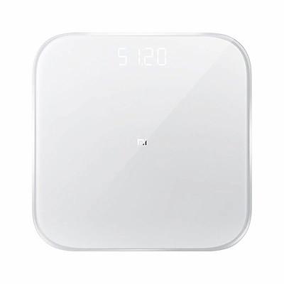 Cân điện tử thông minh Xiaomi Scale 2 theo dõi sứ khỏe đồng bộ với điện thoại thông qua App ứng dụng MiFit, hiển thị các thông tin liên quan đến sức khỏe một cách chính xác như chỉ số BMI và một số các thông số khác - Hàng nhập khẩu