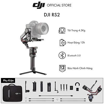 Tay Cầm Gimbal Chống Rung DJI Ronin RS 2 Basic - Hàng Chính Hãng - Bảo Hành 12 Tháng