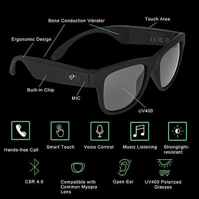G1 Bone Conduction Music Playing Headset Polarized Glasses Sunglasses