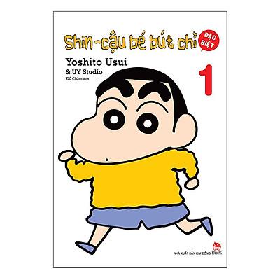 Shin - Cậu Bé Bút Chì - Tập 1 (Bản Đặc Biệt) (Tái Bản 2019)
