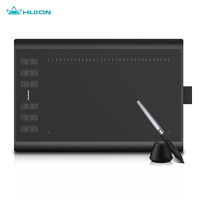 Bảng Vẽ Điện Tử HUION H1060P Bảng vẽ cảm ứng Huion 1060P New Đen