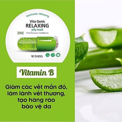 Combo 10 Mặt nạ BNBG Vita Genic Jelly Mask 30ml x10 (Lifting, Whitening, Relaxing, Hydrating)
