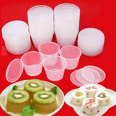 Combo 30 Khuôn Làm Bánh FLan, Rau Câu, Sữa Chua Dùng Được Lò Vi Sóng