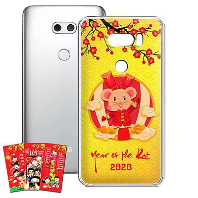 Ốp lưng điện thoại LG V30 - 01253 7956 HPNY2020 11 - Tặng bao lì xì Mừng Xuân Canh Tý - Silicon dẻo - Hàng Chính Hãng