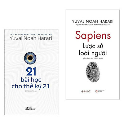 Combo Sách Hay:  Sapiens-Lược Sử Loài Người (Tái Bản Có Chỉnh Sửa) +21 Bài Học Cho Thế Kỷ 21 - (Sách Bán Chạy / Tặng Kèm Postcard Greenlife)