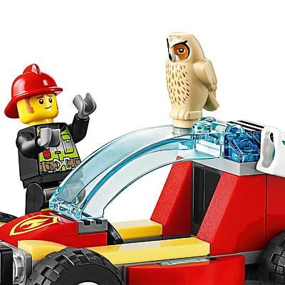 Đồ Chơi Lắp Ghép LEGO City Lực Lượng Cứu Hỏa Rừng 60247 (84 Chi Tiết)
