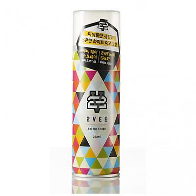 Gôm xịt tóc 2VEE Spray 230ml - Nhập khẩu Hàn Quốc