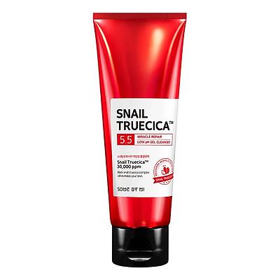 Sữa Rửa Mặt Tạo Bọt Mịn Snail Truecica Miracle Repair Low PH Gel Cleanser 100ml