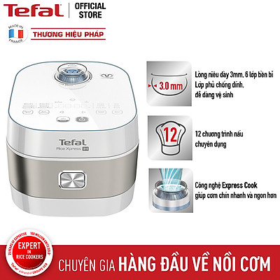 Nồi cơm điện tử cao tần Tefal 1.5L RK762168- Hàng chính hãng