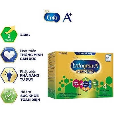 Sữa bột Enfagrow A+ NeuroPro 4 với 2'-FL HMO cho trẻ từ 2 – 6 tuổi – 3.3kg