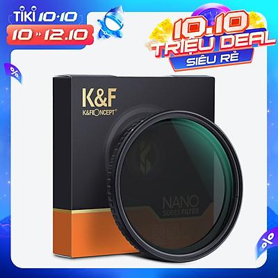 Bộ Lọc Trung Tính Biến Thiên Siêu Mỏng Cho Ống Kính Máy Ảnh Canon Và Sony K&F CONCEPT (ND2-ND32)