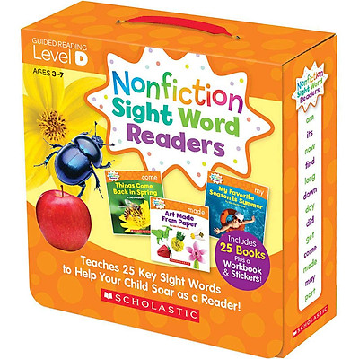 Nonfiction Sight Word Readers: Guided Reading Level D (Parent Pack)