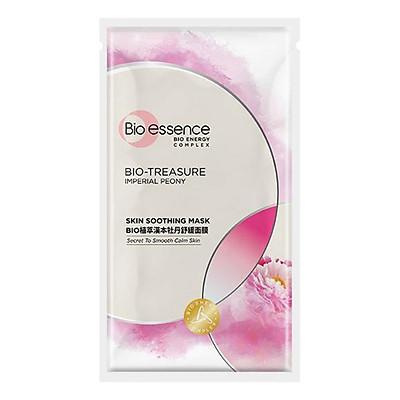 Mặt nạ dưỡng da tươi trẻ chiết xuất hoa mẫu đơn hoàng cung Bio-essence (20ml)