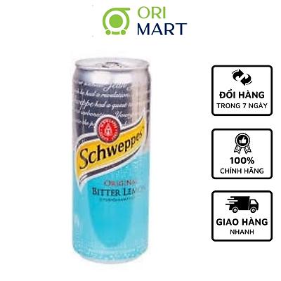 Schweppes Original Bitter Lemon 330 ml - Nước ngọt có ga vị chanh đắng ORIGINAL SCHWEPPES 330ml