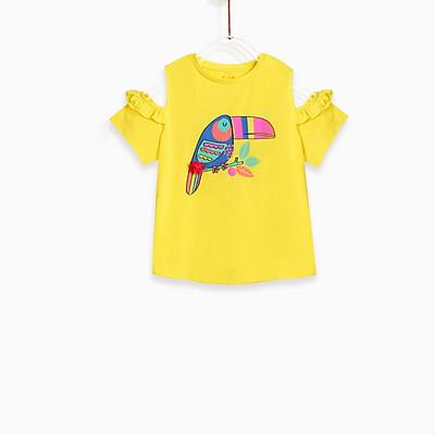 Áo bé gái - Tropical Bird M.D.K CGSUM19T04